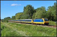1/13 NSR E186 017 ICR - Delft-Zuid, 12-05-2019 (dloc567) Tags: train trein zuch zug delft nsr traxx icr bombardier