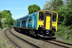150284 - Buckley (Mark_Edwards_47769) Tags: class150 150284 buckley tfw transportforwales
