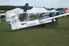 G-DCXV (IndiaEcho) Tags: gdcxv yorkshire sailplanes ys53 sovereign eghp popham airport airfield light general civil aircraft aeroplane aviation basingstoke hampshire england canon eos 1000d microlight fly in 2019