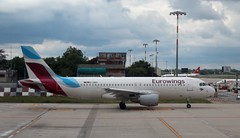 D-ABNT A320 Eurowings taxy BLQ 150519 (kitmasterbloke) Tags: blq bologna marconi italy aviation airliner aircraft outdoor transport