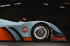 Caterham SP300R - Side (Rick Nunn) Tags: racecar daylight moody orange lowkey blue caterham strobist becauseracecar dark sp300r thetracklife gulf car trackcar uk attack