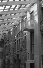 img013 (streetsidemuse) Tags: modernarchitecture toronto bnw bw blackandwhite film 35mm analogue canon canoneae1