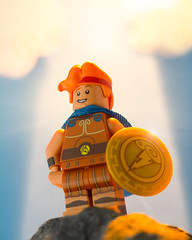 Who put the glad in gladiator? (thereeljames) Tags: hercules disney lego legophotography toyphotography toys toyphotographers minifigure canon