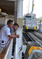 DSC_0158p1 (Andy961) Tags: panama pedromiguel panamacanal locks coralprincess cruiseships people