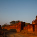 Golden Hour at Bagan Ruins, Myanmar