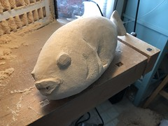 2018-03-16 13.56.04 (Dr.DeNo) Tags: 2018 spring black fish tautog wood carving carver whittle art marine roughing