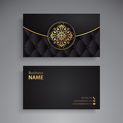 Business Card. Vintage decorative elements. Ornamental floral business cards or invitation with mandala (Shakhawat122) Tags: card business name vintage flower mandala wedding arabic banner decoration element ethnic floral frame henna identity indian invitation motive ornament paper pattern retro style template tribal web turkish pakistan abstract abstraction background black circle cover design islam meditation motif mystical ottoman paganism phone print round site tattoo vector yoga snowflake luxury