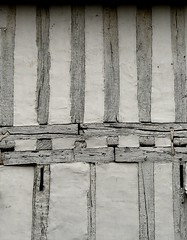 Early Exoskeleton (Grooover) Tags: beams timber frame building wall house lavenham suffolk grooover