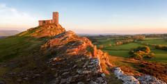 Brentor Church (Rich Walker Photography) Tags: dartmoor devon landscape landscapes landscapephotography landmark landmarks church churches hill tor brentor fields sunset sky land canon england efs1585mmisusm eos eos80d