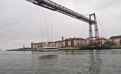 Biskaya-Brücke / Biskaya-Bridge # 3 (schreibtnix on'n off) Tags: reisen travelling europa europe spanien spain portugalete gebäude buildings brücke bridge biskayabrücke biskayabridge olympuse5 schreibtnix