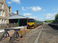 150002 Barnstaple (5) (Marky7890) Tags: gwr 150002 2f43 class150 sprinter barnstaple railway devon tarkaline train