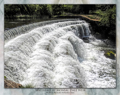Monsal Dale Weir (Frothy) (setsuyostar) Tags: monsaldale waterfalls rivers riverwye peakdistrict nikoncoolpixp900 spring2019 may2019 topazstudio kenhawley