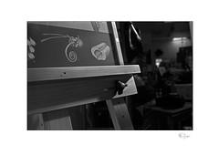 Easel (radspix) Tags: praktica mtl3 35mm supertakumar f35 kentmere 100 pmk pyro