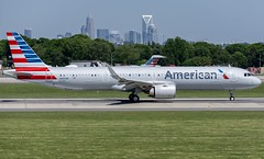 The First Airbus A321-Neo to visit Charlotte. (kevinrclemmonsphotography) Tags: airliner americanair americanairlines airbus a321 a321neo aviationphotography aviation