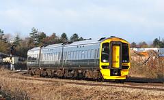 158957. (curly42) Tags: 158957 class158 dmu unit sprinter gwr railway transport travel publictransport