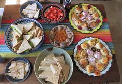 High tea at home (Elisa1880) Tags: high tea den haag the hague verjaardag birthday 38 scones shortbread sandwiches strawberries fig apricot vijgen abrikozen aardbeien
