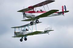 De Havilland DH82a Tiger Moth and Blackburn B2 (Nigel Musgrove-2.5 million views-thank you!) Tags: de havilland dh82a tiger moth blackburn b2 biplane propeller piston plane aircraft aeroplane 1930s 1932