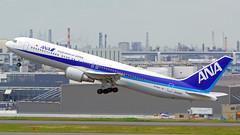 Boeing 767-381/ER, JA608A, All Nippon Airways (tkosada.mac) Tags: allnipponairways staralliance boeing b763 tokyointernationalairport hanedaairport hnd rjtt