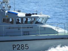 Royal Navy Scimitar Class Patrol Boat HMS Sabre P285 off Catalan Bay, Gibraltar (53) (andrew.dace) Tags: royal navy scimitar class hms sabre p285