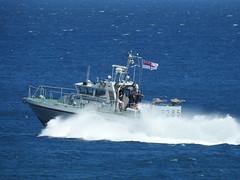 Royal Navy Scimitar Class Patrol Boat HMS Sabre P285 off Catalan Bay, Gibraltar (7) (andrew.dace) Tags: roayl navy scimitar class hms sabre p285 gibraltar