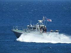 Royal Navy Scimitar Class Patrol Boat HMS Sabre P285 off Catalan Bay, Gibraltar (5) (andrew.dace) Tags: roayl navy scimitar class hms sabre p285 gibraltar