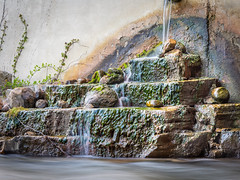 Micro Waterfall (kystopz89) Tags: 2019 day michigan nature outdoors natural outdoor beautiful landscape nopeople stone rock beauty scenic explore summer waterfall green creek river flow flowing stream plant water moss scenery rochester sunlight