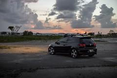 Sunset (Daniel Kolos) Tags: vw volkswagen golf gti mk6 mark 6 mkvi vi dpb deep black pearl apr hot hatch hatchback canon 5d mkiv mk4 dslr fort lauderdale car tuned