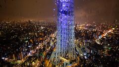 Tokyo nights (ej - light spectrum) Tags: tokyo japan nightshot night rainy regen tower turm skytree 2019 april xt2 fujifilm city nightlights nachtlichter 東京 日本 スカイツリー 東京スカイツリー