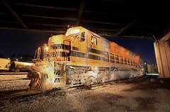 BP454 (GLC 392) Tags: bp bprr buffalo pittsburgh railroad railway train emd sd45 sd45r sd452 454 463 butler pa pennsylvania spot light