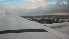 Window Seat (Starkillerspotter) Tags: boeing 777300er star alliance livery b2032 air china evening landing paris cdg airport terminal 1 sky