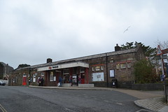 Redruth Railway Station (Will Swain) Tags: redruth 16th november 2018 bus buses transport travel uk britain vehicle vehicles county country england english south west cornwall town centre railway station train trains rail railways europe