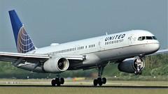N13113 (AnDyMHoLdEn) Tags: unitedairlines 757 staralliance egcc airport manchester manchesterairport 05r