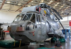 XV708 Westland Sea King HAS.6 @ HMS Sultan, Gosport, Hampshire. (Sw Aviation) Tags: xv708 westland sea king has6 hms sultan gosport hampshire xv655 xv660 xv576 zg817 flying flight sikorsky avgeek airplane planes wreck relic newcommen hangar withdrawn service training grey helicopter heliport chopper