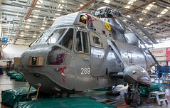 XV660 Westland Sea King HAS.6 @ HMS Sultan, Gosport, Hampshire. (Sw Aviation) Tags: xv655 xv660 westland sea king has6 hms sultan gosport hampshire xv708 xv576 zg817 flying flight sikorsky avgeek airplane planes wreck relic newcommen hangar withdrawn service training grey helicopter heliport chopper