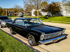 2019-133/365 1966 Ford Galaxie 500 (Sharky.pics) Tags: ford spring classiccar car wisconsin automobile 2019 usa unitedstates may fordgalaxie 1966fordgalaxie500