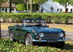 1966 Triumph TR4A IRS (rvandermaar) Tags: 1966 triumph tr4a irs triumphtr4a triumphtr4 tr sidecode1 import dh1927