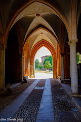 Vigevano, Castello Visconteo (Gian Floridia) Tags: vigevano castello gotico passaggio portale