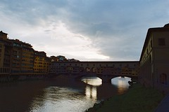 Florence (michele.palombi) Tags: florence tuscany sunset analogic shot 35mm film negativo colore c41