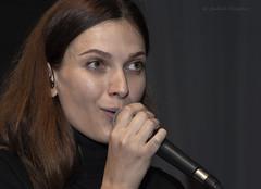 Soloist (Lyutik966) Tags: arturia namm sokolniki moscow russia soloist singer woman girl portrait eyes vote microphone music