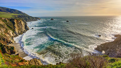 Big Sur (KC Mike Day) Tags: sur big california coast central pch one highway pacific ocean sea water waves arch cliff hillside