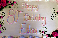 80th Birthday Cake (Bracus Triticum) Tags: 80th birthday cake brandon ブランドン manitoba マニトバ州 canada カナダ 4月 四月 卯月 shigatsu uzuki unohanamonth 2019 平成31年 spring april
