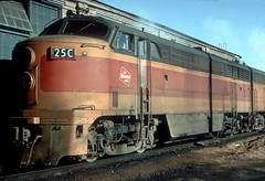 MILW 25C Bensenville 1-3-66 Houser dupe (jsmatlak) Tags: chicago milwaukee road train railroad