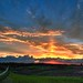 Sunset on Abbe Hills Road II