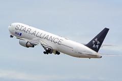 Boeing 767-381/ER, JA614A, All Nippon Airways (Star Alliance Livery) (tkosada.mac) Tags: staralliancelivery allnipponairways boeing b763 tokyointernationalairport hanedaairport hnd rjtt