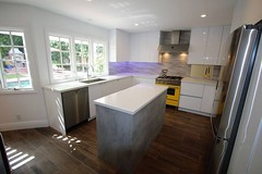 Modern white custom kitchen remodel with sophia line cabinets, wood floor and custom Island that we finished in Laguna Niguel Orange County https://www.aplushomeimprovements.com/portfolio_page/140-modern-style-custom-design-build-kitchen-laguna-hills/ (Aplus Interior Design & Remodeling) Tags: kitchenremodel kitchen kitchenisland kitchenrenovation kitchencabinets kitchenandbath remodel residentialdesign remodeling renovation residentialremodel residential