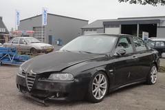 Alfa Romeo 156 1.8 TS 30-10-2003 19-NK-JK (Fuego 81) Tags: alfa romeo 156 2003 19nkjk onk sidecode6 pk16yl ford sierra avia