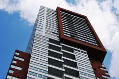 Living in the clouds (rob kraay) Tags: windows clouds robkraay communalterrace tower windowframes skyscraper facade sky