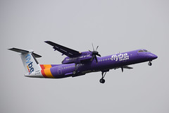Flybe DH8D, G-FLBC, LHR (LLBG Spotter) Tags: lhr dash8 flybe aircraft egll airline gflbc