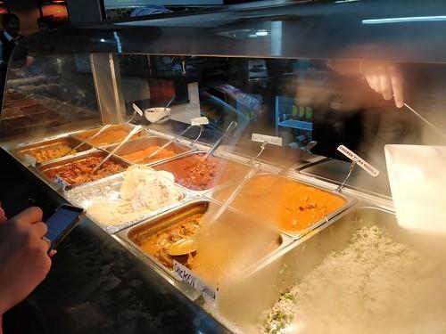 Peas pulao rice - Tejas Indian Restaurant, Melbourne