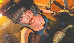 星空裙 (imp朣) Tags: pixicat secondlife second life girl yellow sunshine bird star insomnia angel